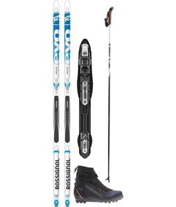 Rossignol Evo First Classic XC Ski Package
