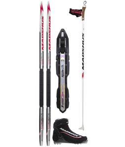 Madshus Intrasonic Jr Skate XC Ski Package