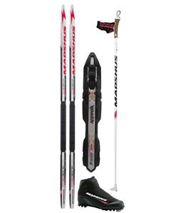 Madshus Intrasonic Jr Classic XC Ski Package