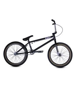 Cult CC02 BMX Bike Black/Skinwall 20In