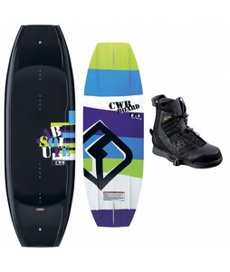 CWB Absolute Wakeboard 135 w/ Faction Bindings