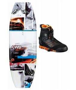 CWB Absolute Wakeboard w/ Faction Bindings
