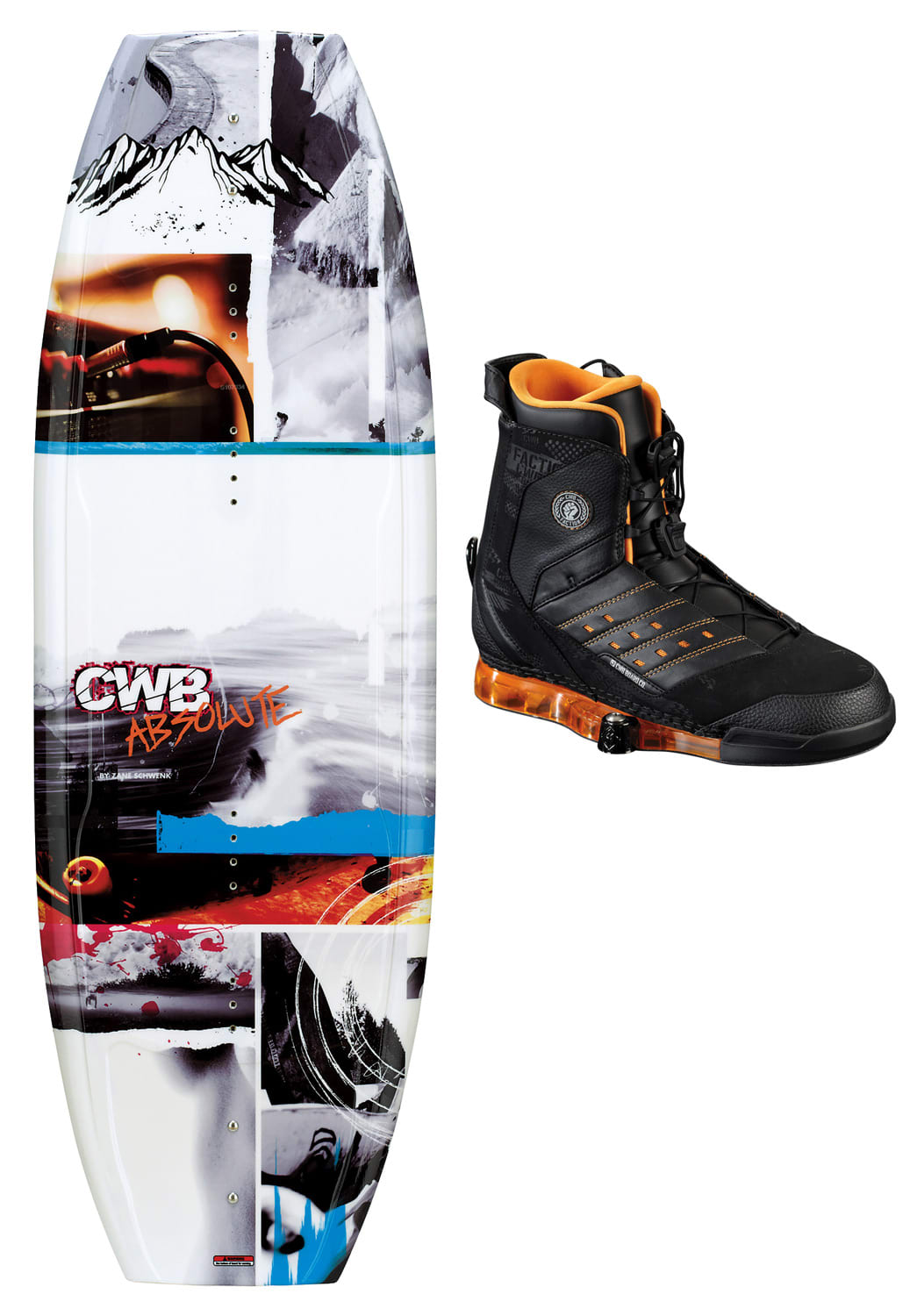 Shop for CWB Absolute Wakeboard 135 w/ Faction Bindings - Men's