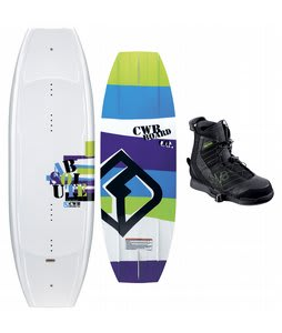 CWB Absolute Wakeboard 141 w/ Faction Bindings Blem