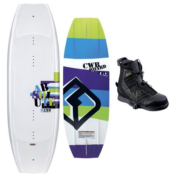 CWB Absolute Wakeboard w/ Faction Bindings