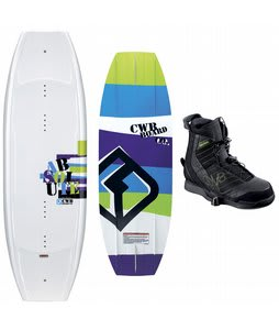 CWB Absolute Wakeboard 141 w/ Faction Bindings