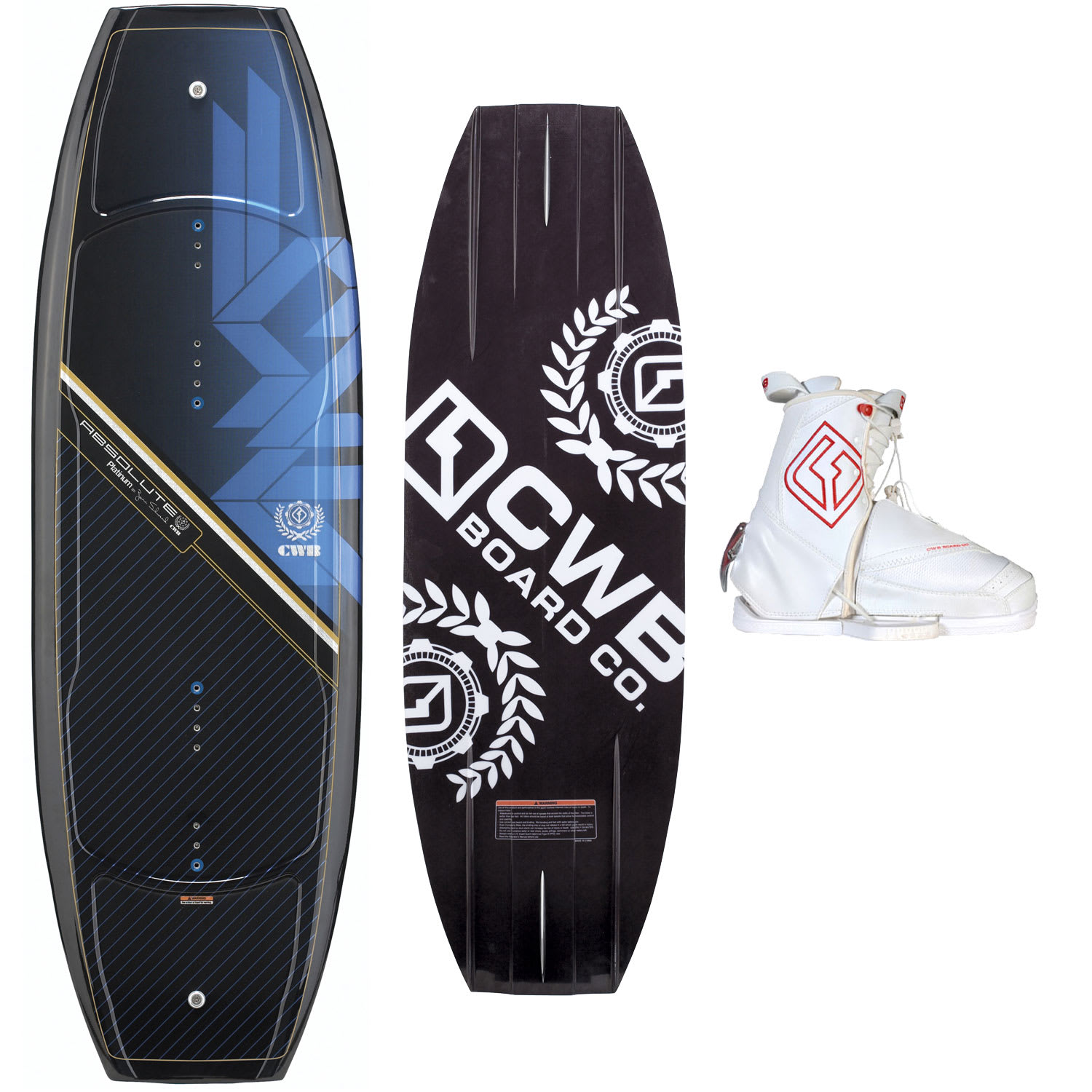 Shop for CWB Absolute Platinum Wakeboard 141 w/ Zeus Bindings - Men's