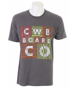 CWB Barred T-Shirt Black/Charcoal