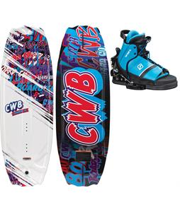 CWB Charger Wakeboard w/ Tyke Bindings One Size