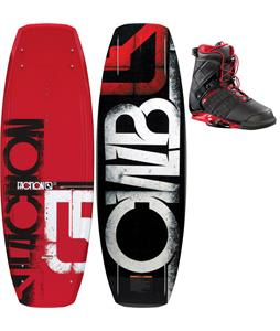 CWB Faction Wakeboard 138 w/ Faction Bindings