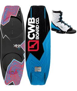 CWB Kink Wakeboard 140 w/ Venza Bindings