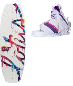 CWB Lotus Wakeboard w/ Bliss Bindings