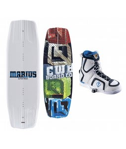 CWB Marius Wakeboard 140 w/ Marius Bindings Blem