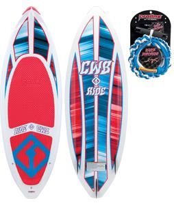 CWB Ride Wakesurfer 5ft 3in w/ Rope/Dvd