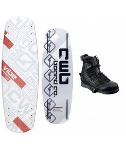 CWB Vibe Wakeboard 142 w/ Faction Bindings Blem
