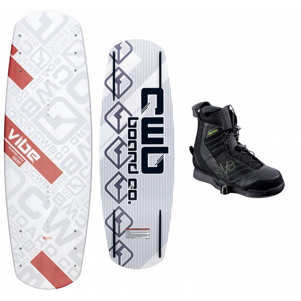 CWB Vibe Wakeboard w/ Faction Bindings
