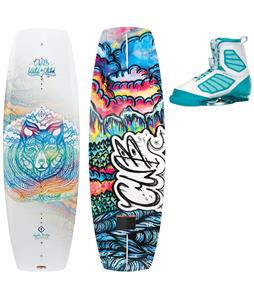 CWB Wild Child Wakeboard 136 w/ Ember Bindings