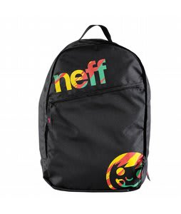 Neff Daily Backpack Black/Rasta