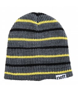 Neff Daily Multistripe Beanie Charcoal Heather