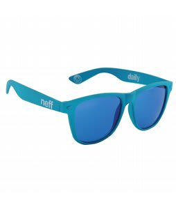 Neff Daily Sunglasses Blue Soft Touch Lens