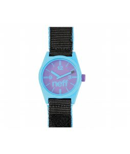 Neff Daily Velcro Watch Cyan/Black