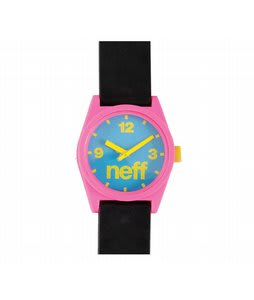 Neff Daily Watch Watch Cyan/Pink/Black