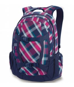Dakine Girl's Alpine Backpack Vivienne Plaid/Navy