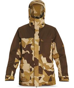 Dakine Bishop Snowboard Jacket Brown Camo/Carafe