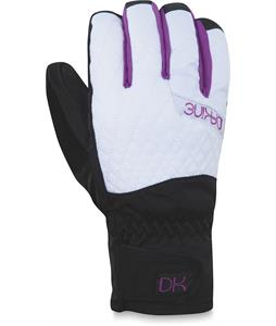 Dakine Camino Short Gloves White Emboss