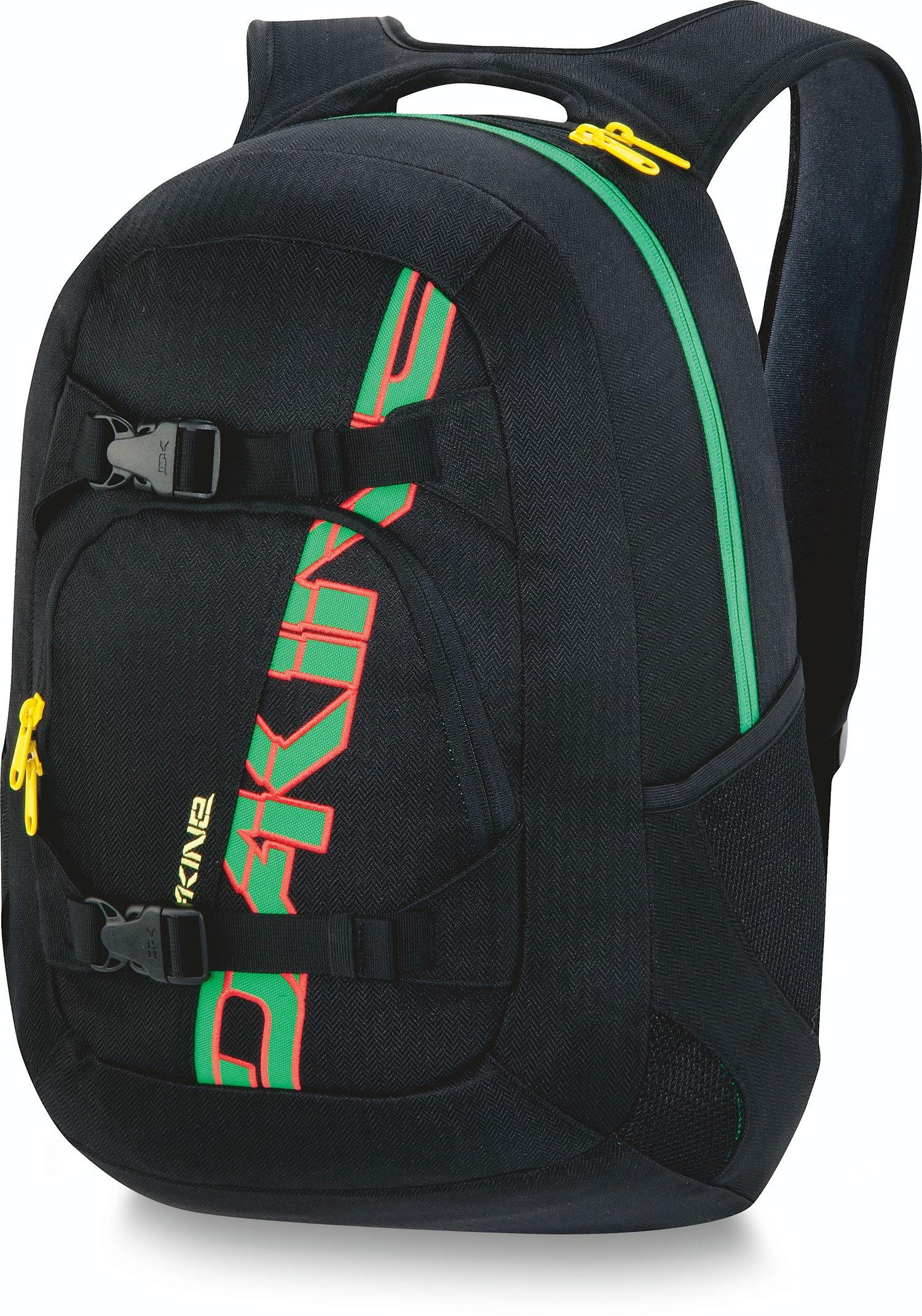 Dakine Explorer 26L Backpack Black/Rasta