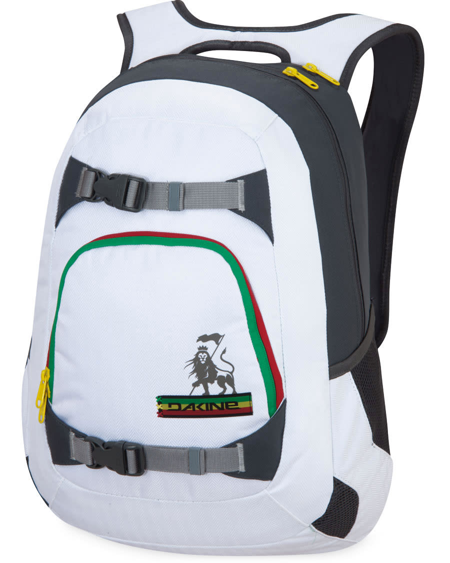 Dakine Explorer Backpack White/Rasta 26L