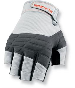 Dakine Half Finger Sailing Gloves Grey