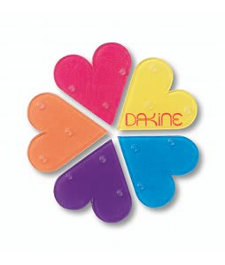 Dakine Hearts Mat Stomp Pad Rainbow