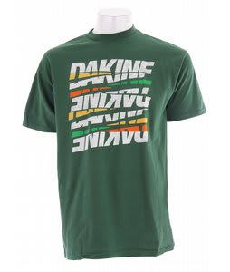 Dakine Jumble Fever T-Shirt Forest Green