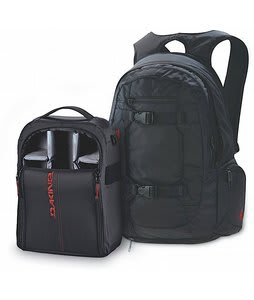 Dakine Mission Photo Backpack Black