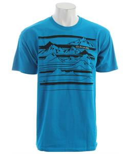 Dakine Mountain Stripe T-Shirt Turquoise