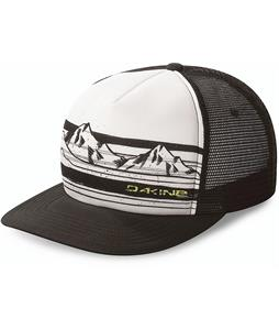 Dakine Mountain Stripe Trucker Cap Black/White