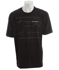 Dakine Mountain Stripe T-Shirt Black