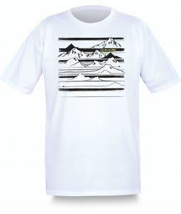 Dakine Mountain Stripe T-Shirt White