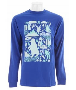 Dakine Outdoors L/S T-Shirt Royal