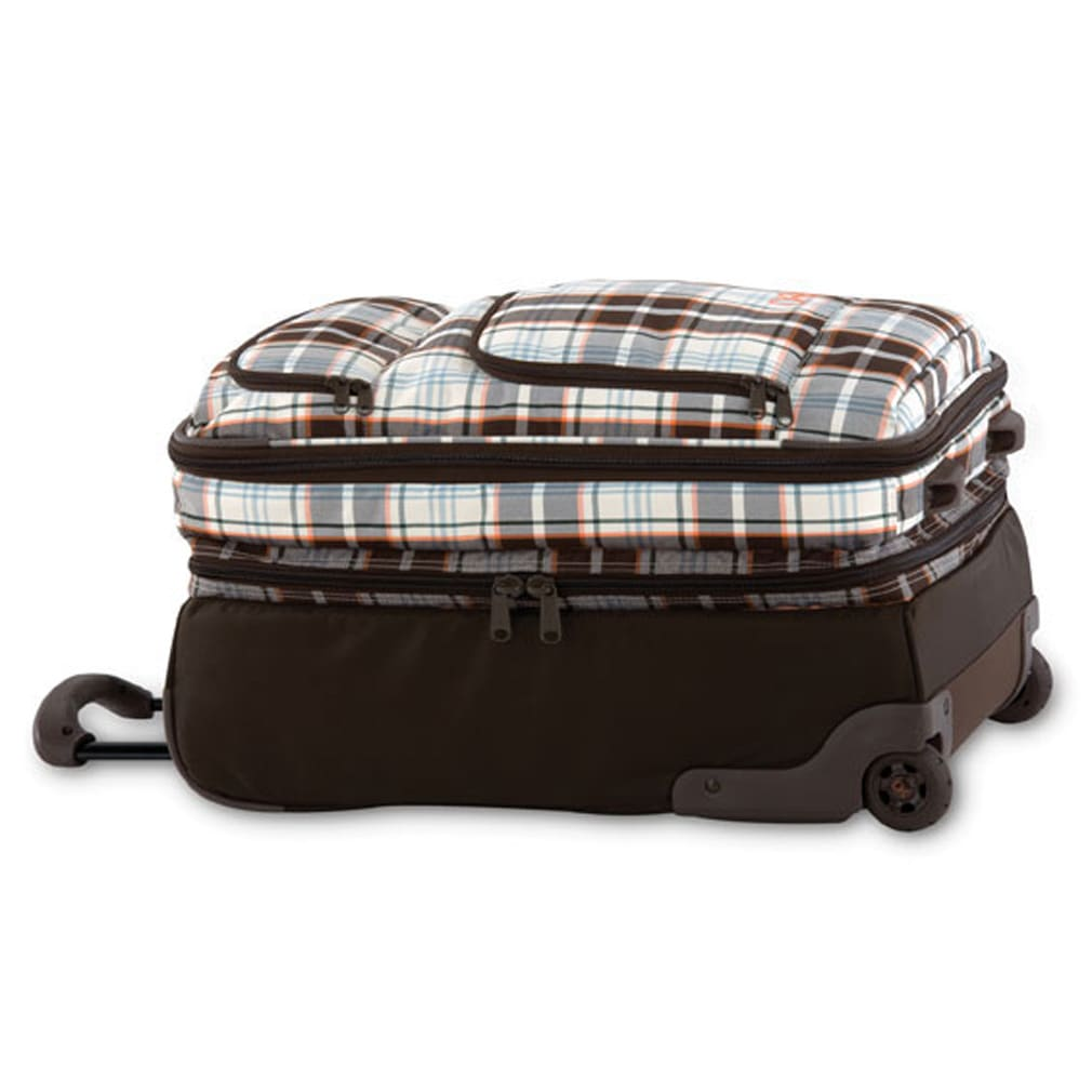 Shop for Dakine Over Under Travel Bag Autumn Plaid - Women's