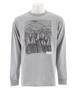 Dakine Snow Storm L/S T-Shirt Heather Grey