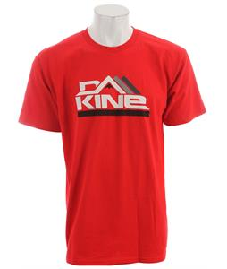 Dakine Stacked T-Shirt Cardinal