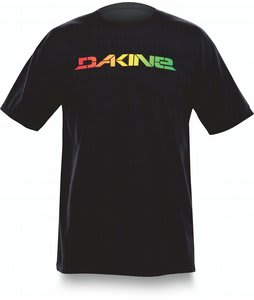 Dakine Stencil Rail Raglan T-Shirt Black