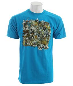 Dakine Stumptown T-Shirt Turquoise