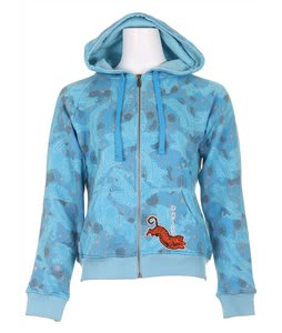 Dakine Superstition Zip Hoodie Iceberg/Ocean Waterfall