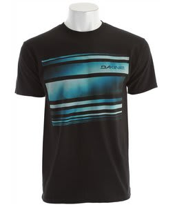 Dakine Wave Stripe T-Shirt Black