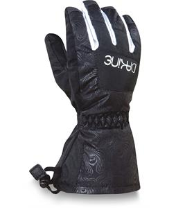 Dakine Yukon Jr Gloves Black Emboss