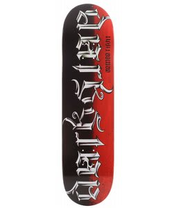 Darkstar Anagram Al Skateboard Red/Black 8