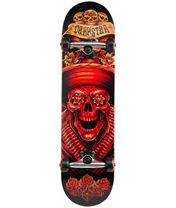 Darkstar Bandito Skateboard Complete Red 8in